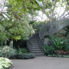 Des Moines Botanical Center Stairs