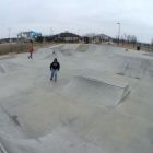 A shot of the Ankeny Skatepark