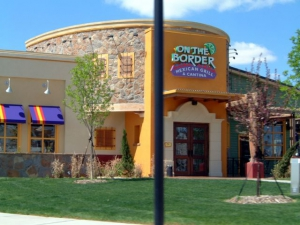 The front of On The Border