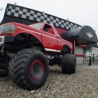 The monster truck outside of Daytona's