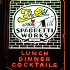 The Spaghetti Works Sign