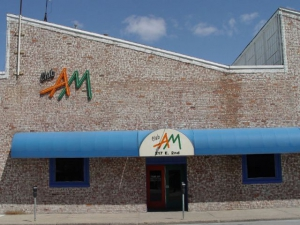The front of Club AM