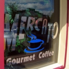 The Mercato Coffee Sign