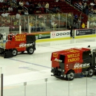 The Wells Fargo Arena Zambonis