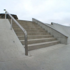 The 11 stair at the Ankeny skatepark