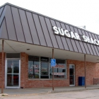 The entrance to Sugar Shack